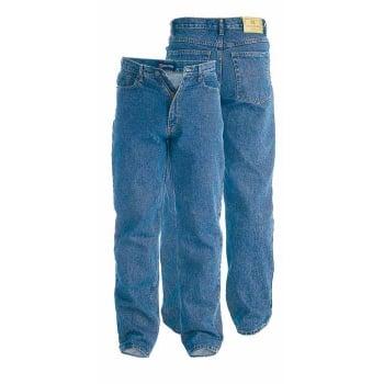 Rockford Jeans Rockford Mens New Stretch Denim Jeans Blue Regular Big Kingsize Zip Fly