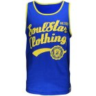 Soul Star Casual Branded Fashion Vest Royal Blue