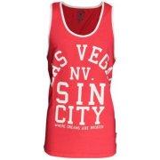 Soul Star Las Vegas Sin City Casual Vest Fuschia
