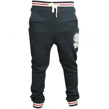 Soul Star Mens MP Sienna Fleece Lined Sweat Joggers Navy