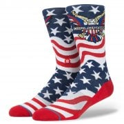 Stance Mens New Classic Crew Comfort Anthem Dipset Socks Blue