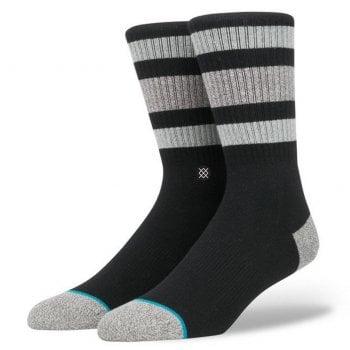 Stance Socks Stance Mens New Classic Crew Comfort Boyd 3 Cotton Socks Black