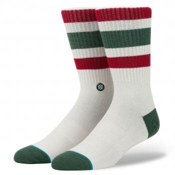 Stance Socks Stance Mens New Classic Crew Comfort Boyd 3 Cotton Socks Green