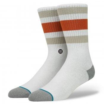 Stance Socks Stance Mens New Classic Crew Comfort Boyd 3 Cotton Socks Natural