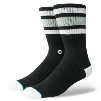 Stance Socks Stance Mens New Classic Crew Comfort Boyd 4 Cotton Socks Black