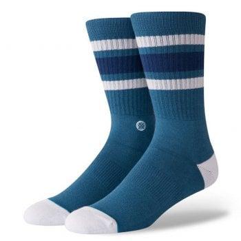 Stance Socks Stance Mens New Classic Crew Comfort Boyd 4 Cotton Socks Indigo