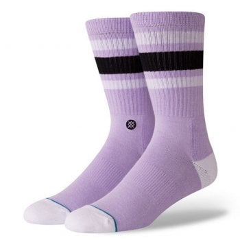 Stance Socks Stance Mens New Classic Crew Comfort Boyd 4 Cotton Socks Violet