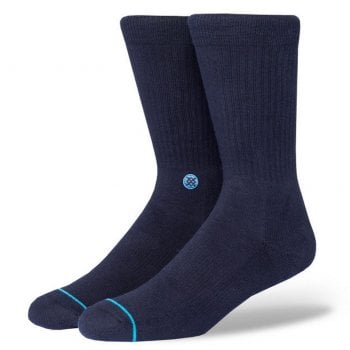 Stance Socks Stance Mens New Classic Crew Comfort Icon Anthem Socks Navy
