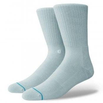 Stance Socks Stance Mens New Classic Crew Comfort Icon Anthem Socks Pastel Blue