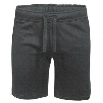 Threads Mens Fleece Shorts Elasticated Waist Jersey Summer Jogging Running Shorts Charcoal
