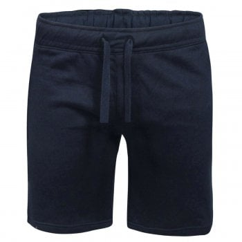 Threads Mens Fleece Shorts Elasticated Waist Jersey Summer Jogging Running Shorts Navy