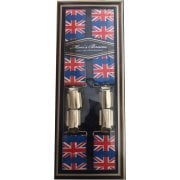"Threads Mens Heavy Duty Union Jack Braces Trouser Belt Suspender 1.5"" 35mm Wide"