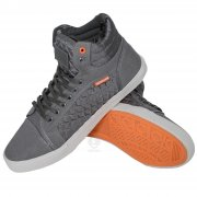 Canvas High Tops Pumps Lace Ups P84 Grey