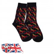 Warrior Clothing 2 Pack Doc Martin Socksteady Socks