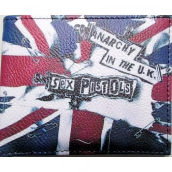 Warrior Clothing Warrior 1970s Style Punk Vintage Union Jack Wallet Anarchy