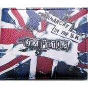 Warrior 1970s Style Punk Vintage Union Jack Wallet Anarchy