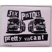 Warrior 1970s Style Punk Vintage Wallet Pretty Vacant White