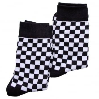 Warrior Clothing Warrior Retro 2 Tone Check Vintage Socksteady Socks pack of 2 pairs Mod