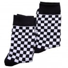 Warrior Retro 2 Tone Check Vintage Socksteady Socks pack of 2 pairs Mod