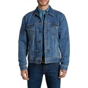 Wrangler Authentic Western Denim Jacket Stonewash Blue
