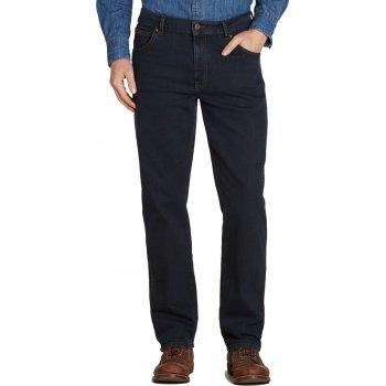 "Wrangler Texas Mens New Stretch 36"" Leg Regular Fit Jeans Blue Black"