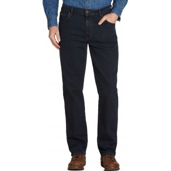Wrangler Texas Mens New Stretch Authentic Regular Fit Jeans Blue Black
