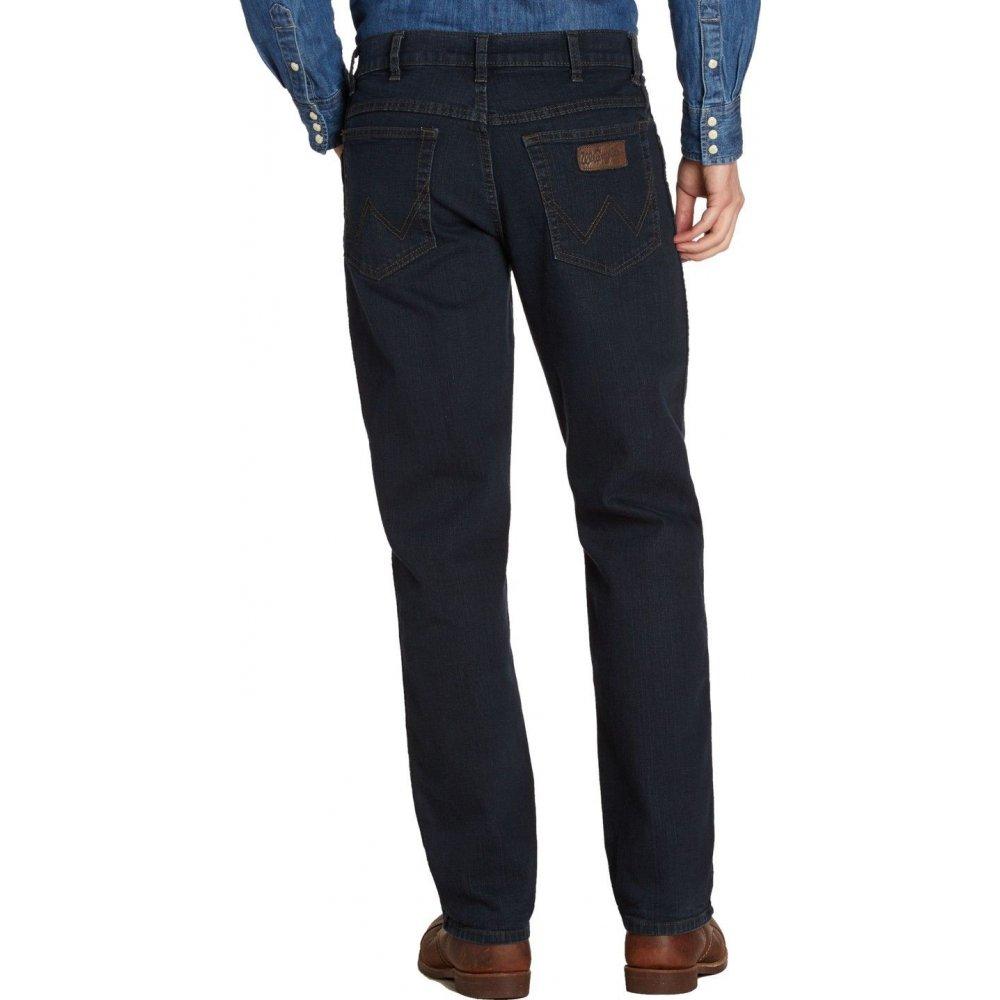 0e8ce166 ... Wrangler Texas Mens New Stretch Authentic Regular Fit Jeans Blue Black  ...