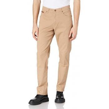 Wrangler Texas Mens New Stretch Regular Fit Light Weight Twill Chino Jeans Cornstalk