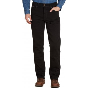 Wrangler Texas Stretch Regular Fit Straight Leg Jeans Jet Black
