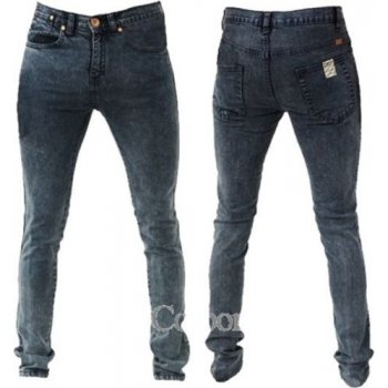 Zico Jeans Designer Super Skinny Leg Stretch Jeans Acid Black