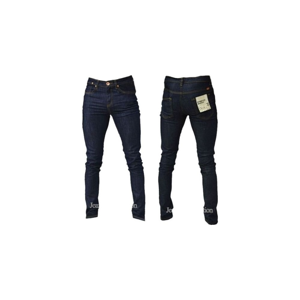 Zico Designer Super Skinny Leg Stretch Jeans Raw Denim