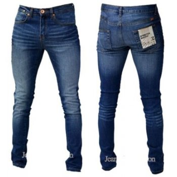 Zico Jeans Designer Super Skinny Leg Stretch Jeans Vintage Stonewash